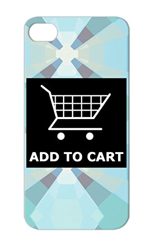 Shop Internet Shopper Geek Net Cart Web Carriage Buggy Internet Shopping Carts Shoppers Online White Tpu For Iphone 5/5S Add To Protective Case front-325260