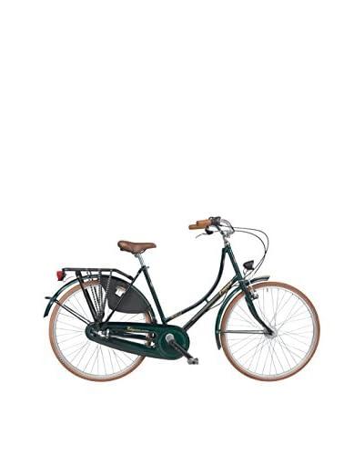 Coppi Bicicleta Holanda Acero Liberty Verde