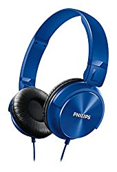 Philips SHL3060BL/00 On-Ear DJ Style Monitoring Headphone  (Blue)