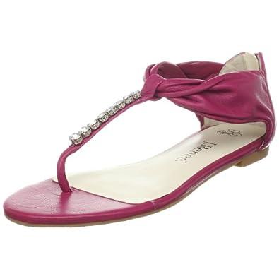 J.Renee Women's Spruce Thong Sandal,FUSchia,8.5 M US