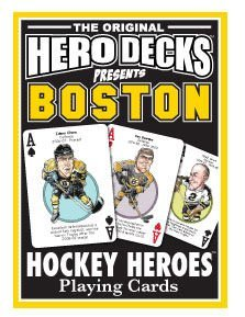 Boston Bruins Hero Deck Playing Cards - 1