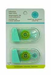 Martha Stewart Crafts Removable Adhesive Tip Roller, 2-Pack