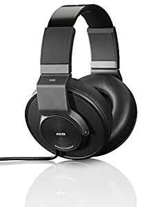 AKG K550 Casque Audio de Haute Performance Fermé  de référence  - Noir