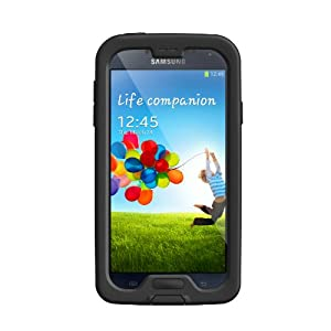 LifeProof Nuud Series Case for Samsung Galaxy S4 - Retail Packaging - Black