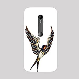 Back cover for Moto X Play Egyptian Bird