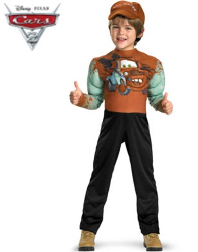 Tow Mater Classic Muscle Costume