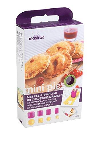Mastrad F26360 Berry Kit Chaussons/Raviolis Silicone/Polypropylène/ABS/Inox Berry