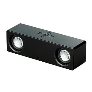 iBUFFALO ワイヤレススピーカー&マイクBluetooth2.1対応ブラック BSSP09BBK