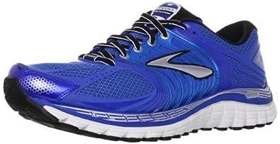 Brooks Men's Glycerin 11 Running Shoes, Color: BrllntBlu/Skydvr/Slvr/Blck/Wht, Size: 7.5