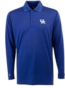 Kentucky Long Sleeve Polo Shirt (Team Color) by Antigua