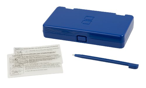 Nintendo DS Lite Game Storage Accessory Kit - Cobalt (Nintendo Ds Lite Cobalt Blue compare prices)