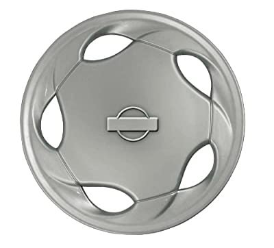 CCI IWCB8826-15SN 15 Inch Clip On Silver Finish Hubcaps - Pack of 4