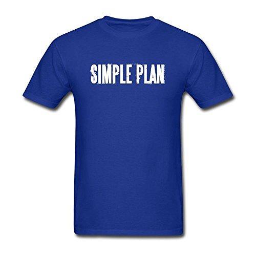 Newm Men's Simple Plan Logo O Neck Short Sleeve T Shirt