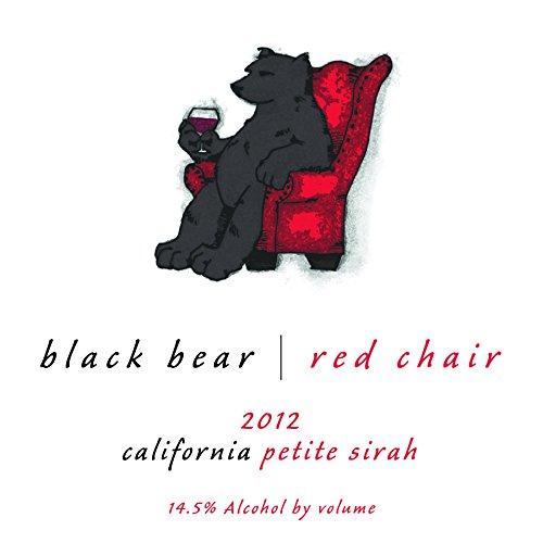 Black Bear Red Chair Petite Sirah 750 Ml