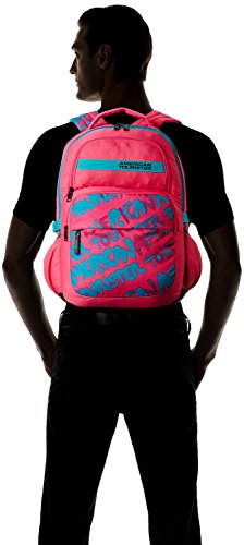 American-Tourister-Aller-01-Pink-Polyester-25Litres-Backpack