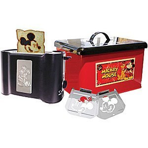 Mickey Mouse Kitchen Appliances Disney Mickey Mouse Toaster Bread Box