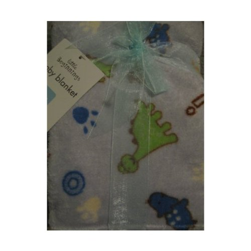 Little Beginnings Dinosaur Blanket - 1