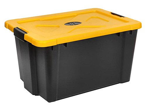 Sealey APB54 Composite Stackable Storage Box with Lid, 54 Liter