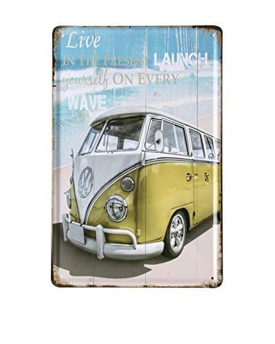 Lo+Demoda Panel Decorativo Vintage Beach Van