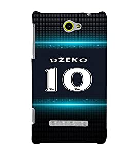 PRINTVISA Football Dzeko Case Cover for HTC WINDOWS 8S