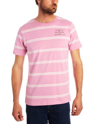 Quiksilver Molera Printed Men's T-Shirt Vanilla Pink Medium