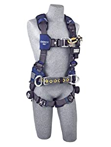 ExoFit NEXTM Global Wind Energy Construction Harness Medium 1113216 by Capital Safety by SALA