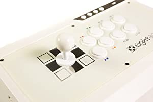 Eightarc Fusion Ivory PS3 & Xbox 360 & PC Joystick (Fightstick)