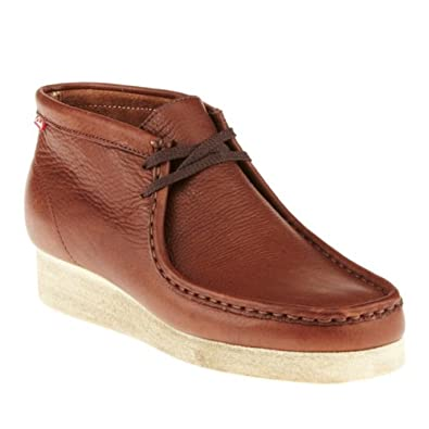Clarks Men's Padmore Brown Oily Leather 7 M US
