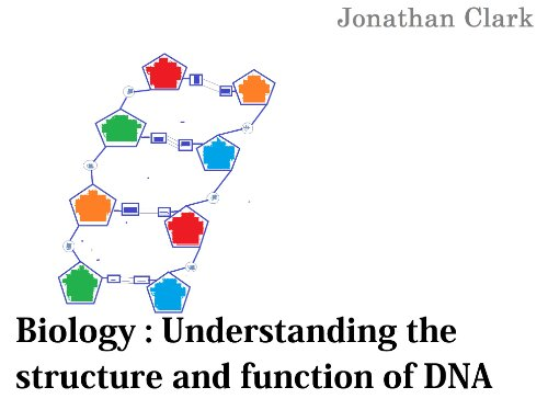 Biology: Understanding the Structure and Function of DNA