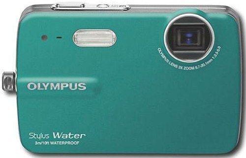 Olympus STYLUS-550WP 10 Megapixel Waterproof Digital Camera - Teal