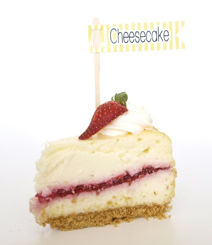 """""""Cheesecake"""" Cupcake Toppers, Yellow (Set Of 12) - Dress Up Dessert Bars, Treat Tables, And Buffets front-443628"""
