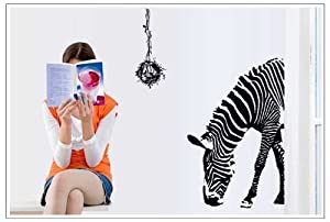 OneHouse Zebra Lower Head Wall Decals from OneHouse