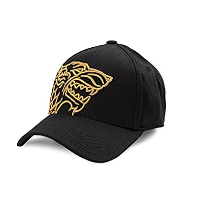 Game Of Thrones Stark House Embroidered Logo Fitted Baseball Cap
