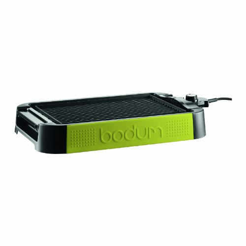 Bodum Electric Indoor Table Grill and Griddle, Green