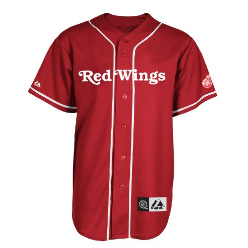 NHL Detroit Red Wings Replica Jersey Red/White