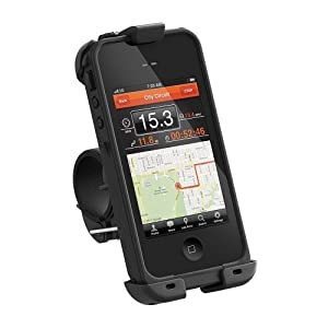 LifeProof Bike Mount for iPhone 4/4S - Retail Packaging - Black
