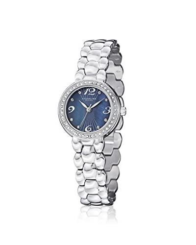 Stuhrling Women's 922.02 Tresor Symphony Silver/Blue Stainless Steel Watch As You See
