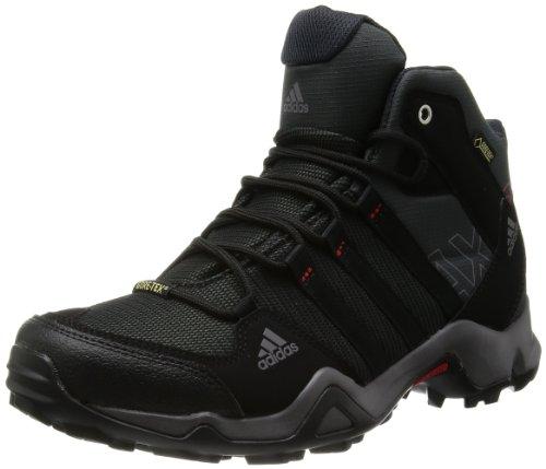 [アディダス] adidas スニーカー AX2 MID GTX Q34271 Q34271 (ダークシェール/ブラック/ライトスカーレット/27.0)