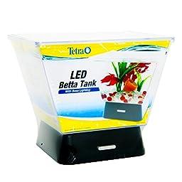 Generic LQ..8..LQ..2477..LQ LED Lig LED Light Betta Bowl Aq Aquarium 4 White ta Tank Home Office Home O Gold Fish Bowl ktop 1 Gal Desktop 1 Gal US6-LQ-16Apr15-1174