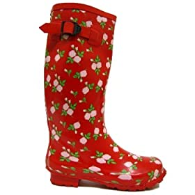 Red Rose Festival Wellies Wellington Boots