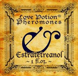 Love Potion®: ESTRATETRAENOL UNscented Pheromone Spray - 1 fl.oz. (20,000 mcg per 30 ml)