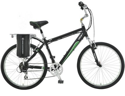 Currie E3Vibe Classic - Electric Bicycles (Black)