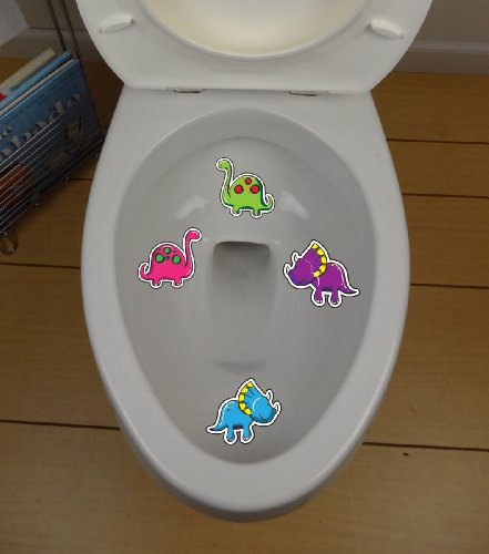 Dinosaur Toilet Targets - Style 1
