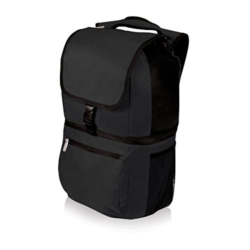 Picnic Time Zuma Insulated Cooler Backpack, Black (All In One Picnic Cooler compare prices)
