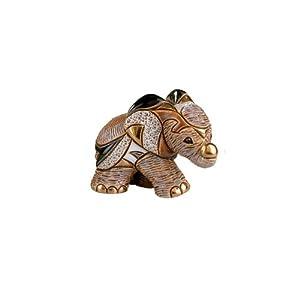 Rinconada African Elephant Baby, Family Collection Figurine