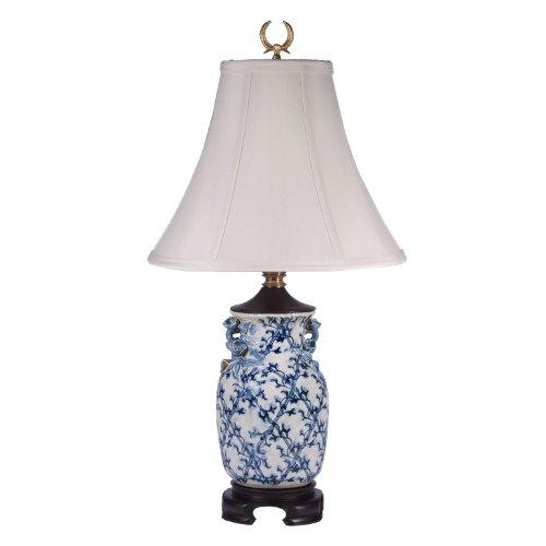 Bradburn Gallery Eliza Blue White Porcelain Table Lamp Cheapest