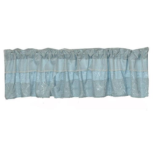 Baby Doll Bedding King Window Valance, Blue