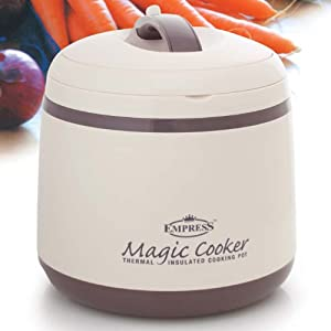 magic cooker thermal insulated cooking pot 5 5l