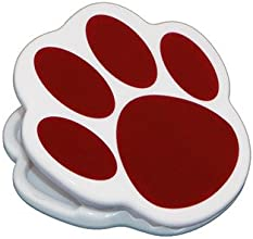 SCBASH10219-23 - MAGNET CLIPS MAROON PAW pack of 23