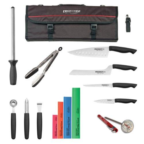 15 Piece Prodigy Knife Kit W/ Tri-Fold Hard Case